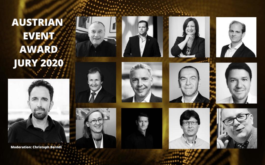 Die hochkarätige Jury für den Austrian Event Award 2020 steht fest
