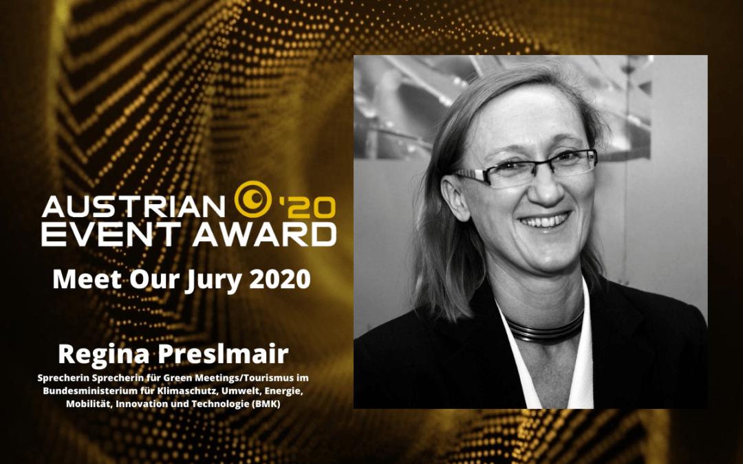 Die Jury-Mitglieder des Austrian Event Awards im Gespräch: Regina Preslmair