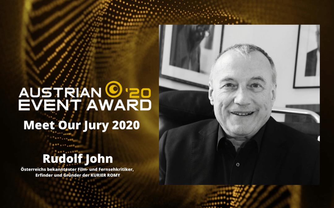 Die Jury-Mitglieder des Austrian Event Awards im Gespräch: Rudolf John