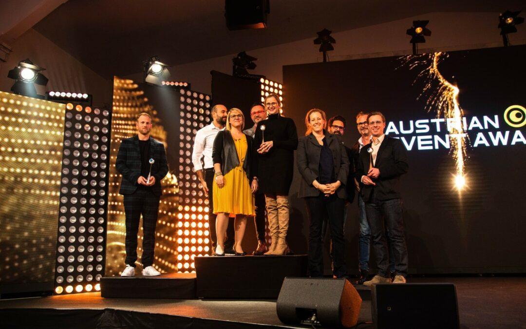 Austrian Event Award 2020 freut sich über das beste Ergebnis aller Zeiten