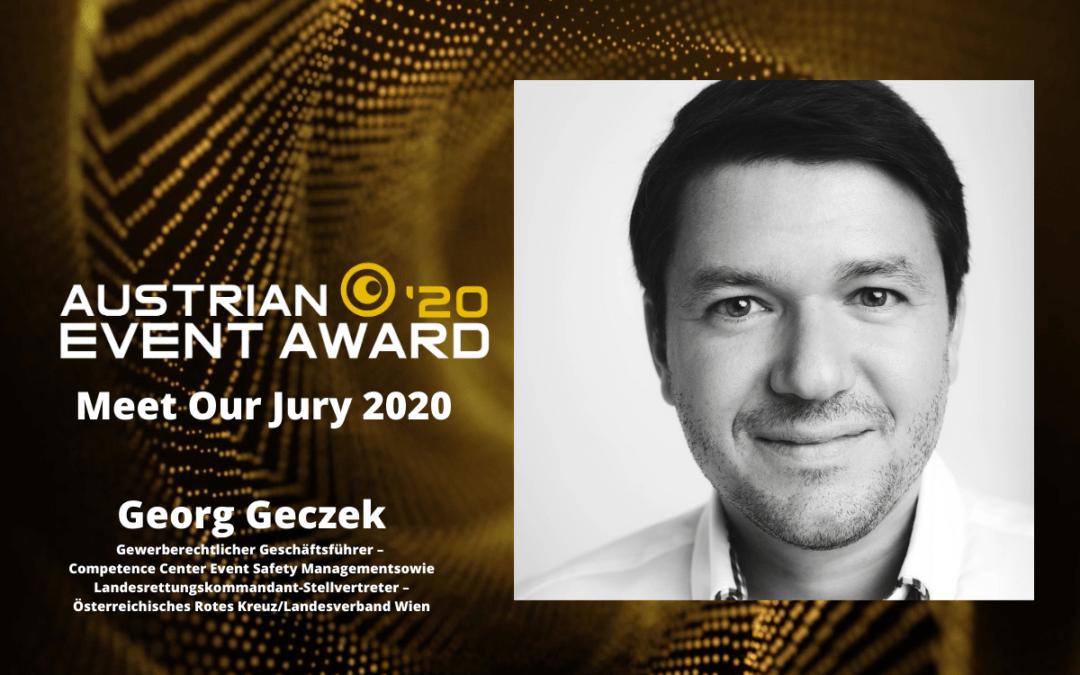 Die Jury-Mitglieder des Austrian Event Awards im Gespräch: Georg Geczek