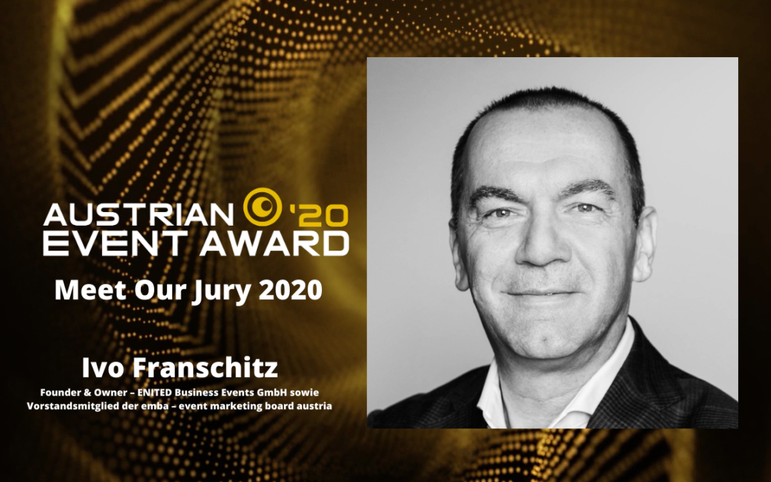 Die Jury-Mitglieder des Austrian Event Awards im Gespräch: Ivo Franschitz