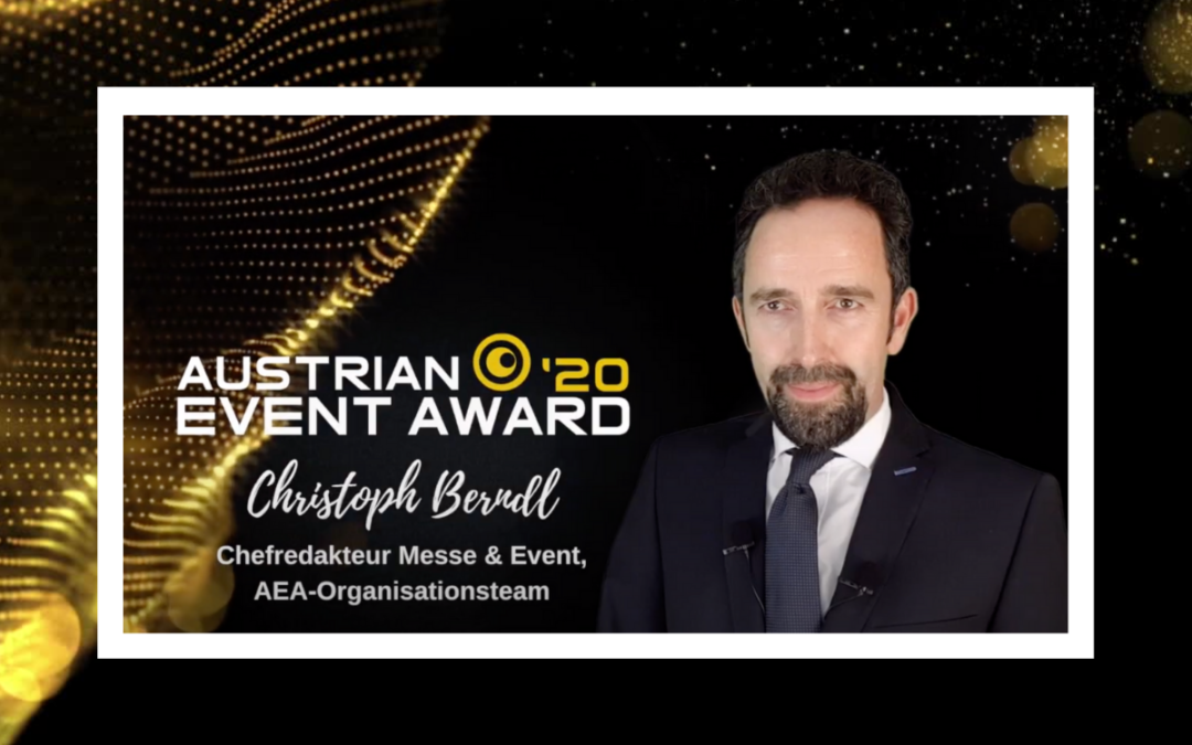 Austrian Event Award präsentiert die Nominierten 2020 in digitaler Nominee Show